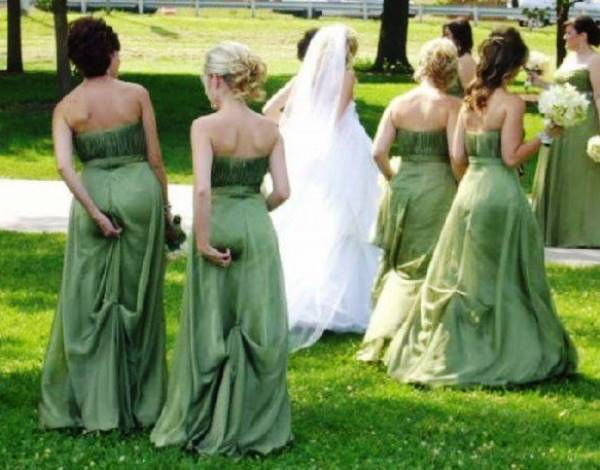 Funny Wedding Wedgies