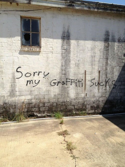 Graffiti Sucks