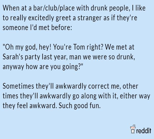 Greeting Strangers