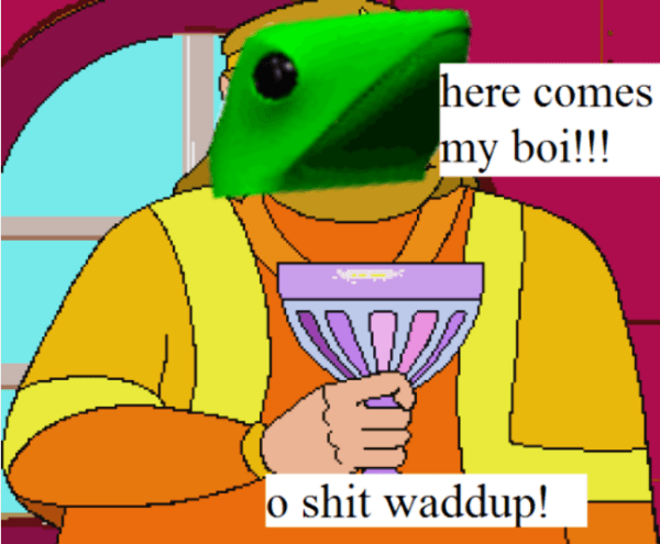 Here Comes Dat Boi