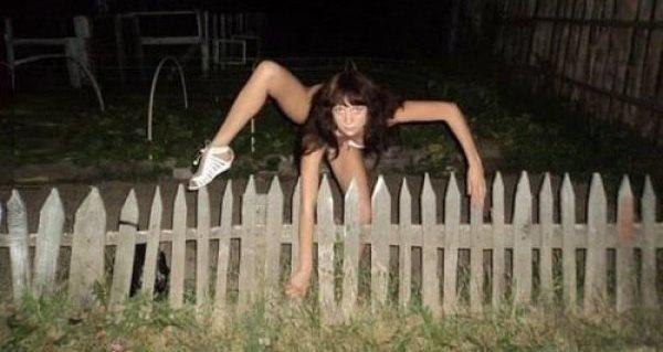 Jumping Over A Fence