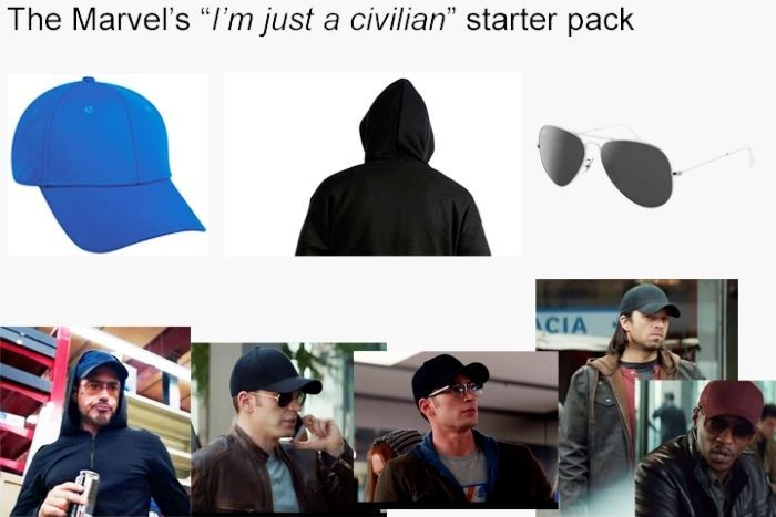 Marvel Hero Starter Pack