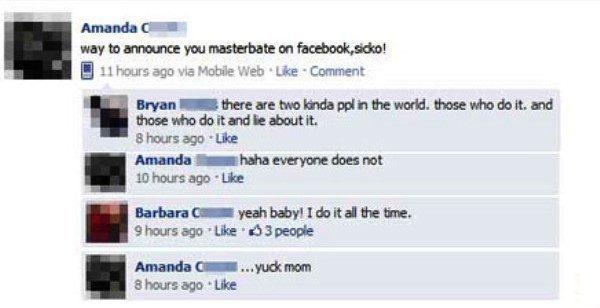 Mom Masturbates