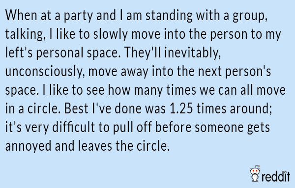 Moving At A Party
