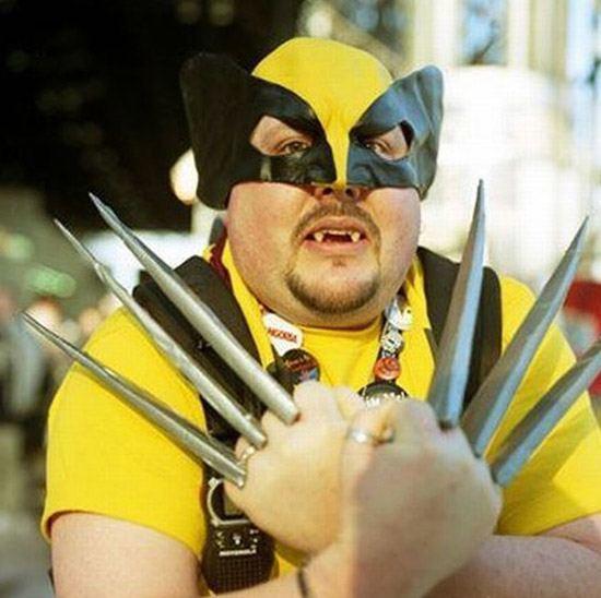 Nerd Wolverine