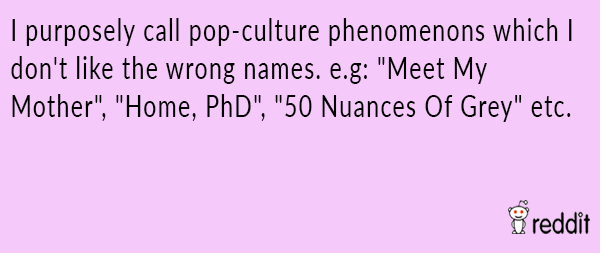 Pop Culture Ignorance