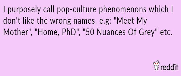 Pop Culture Ignorance