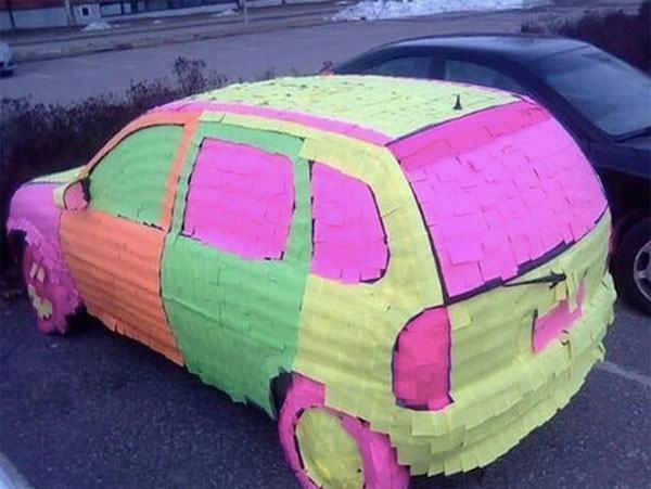 Post It Car
