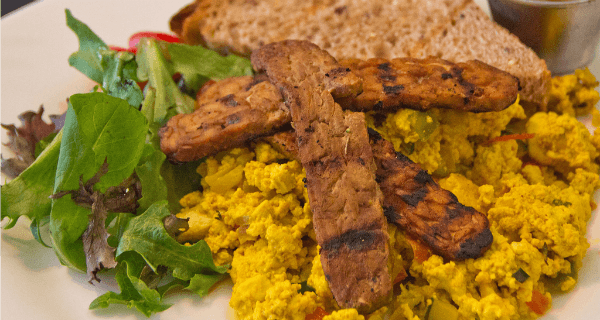Scrambled Tofu Eggs