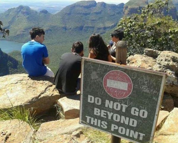 Sign On Mountain