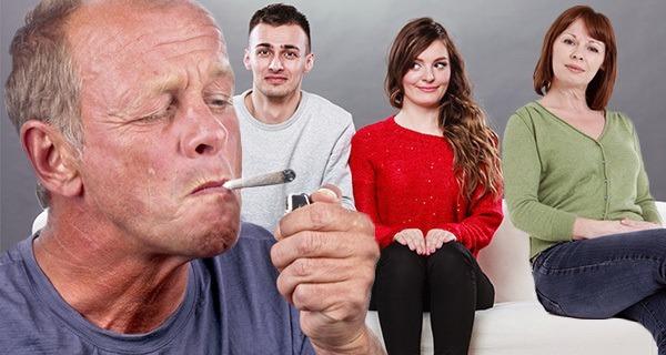 adults who smoke weed