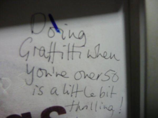 Thrilling Bad Graffiti