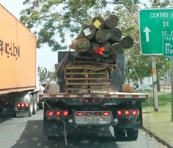 Transporting Logs