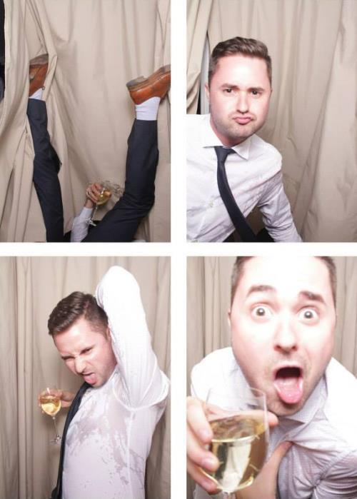 Wedding Booth Fail