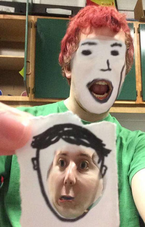 Weird Face Swaps