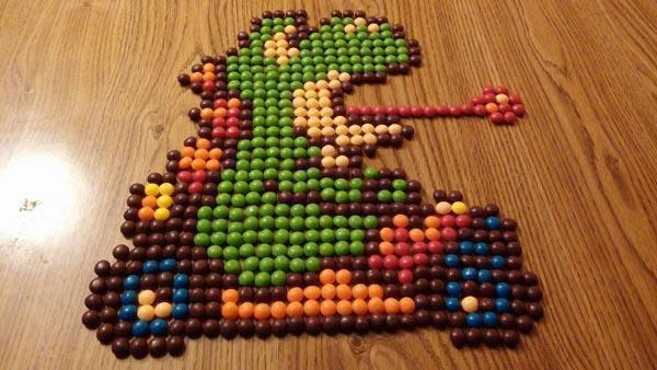 Yoshi Skittles