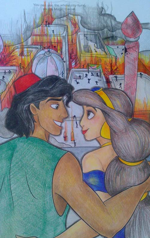 Aladdin Flaming City
