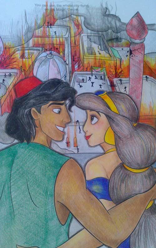 Aladdin Flaming City