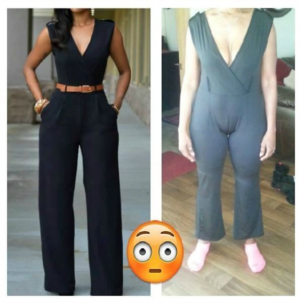 Badly Fitting Jumpsuit