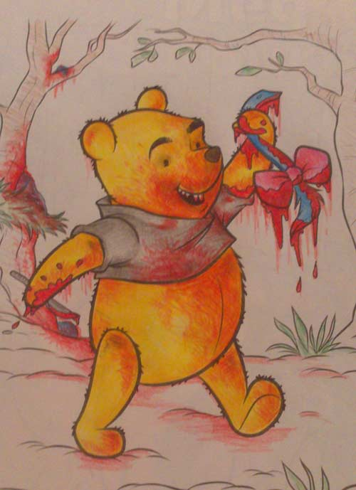 Bloody Poohbear