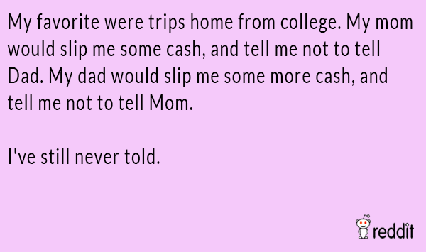 Cash From Dad