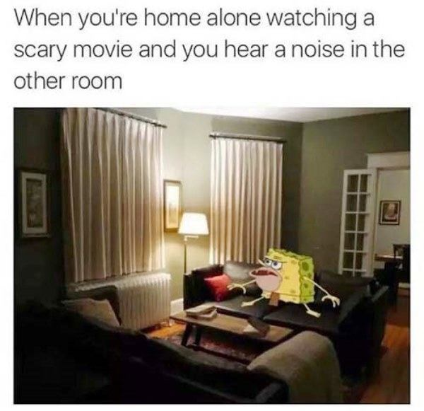 Caveman Spongebob Memes Scary Movie