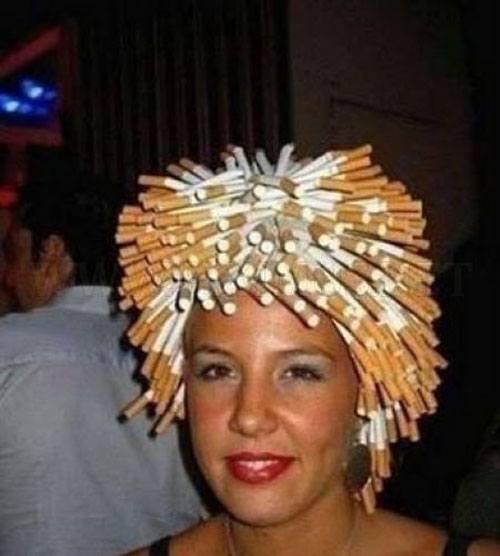 Cigarette Wig