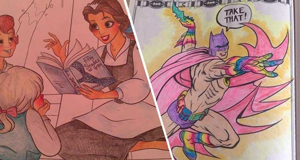 Corruputed Coloring Books