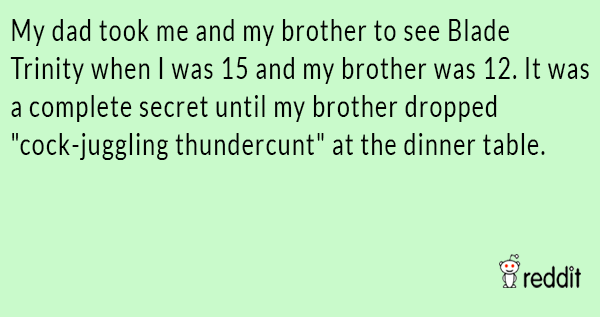 Dont Tell Your Mother Stories