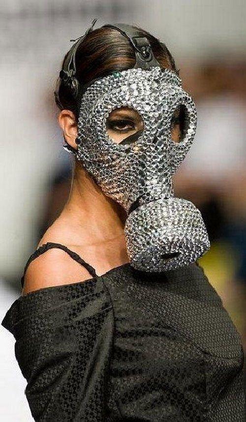 Gas Mask Bling