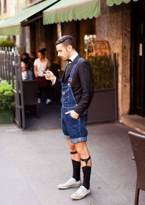 Hipster Overalls