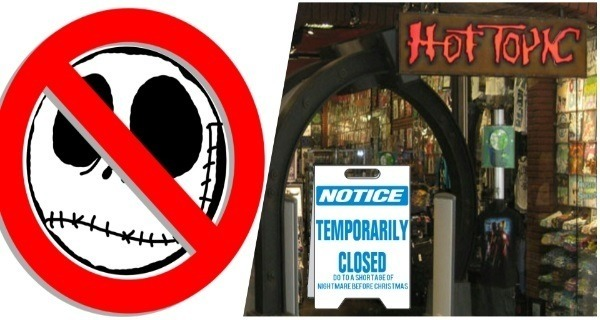 Hot Topic Closed