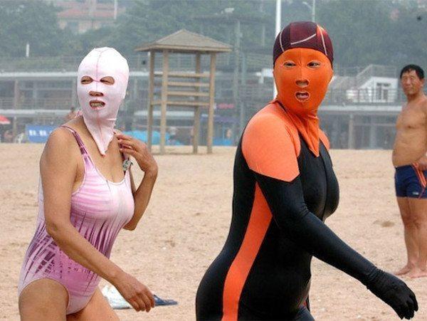 Japan Face Suits