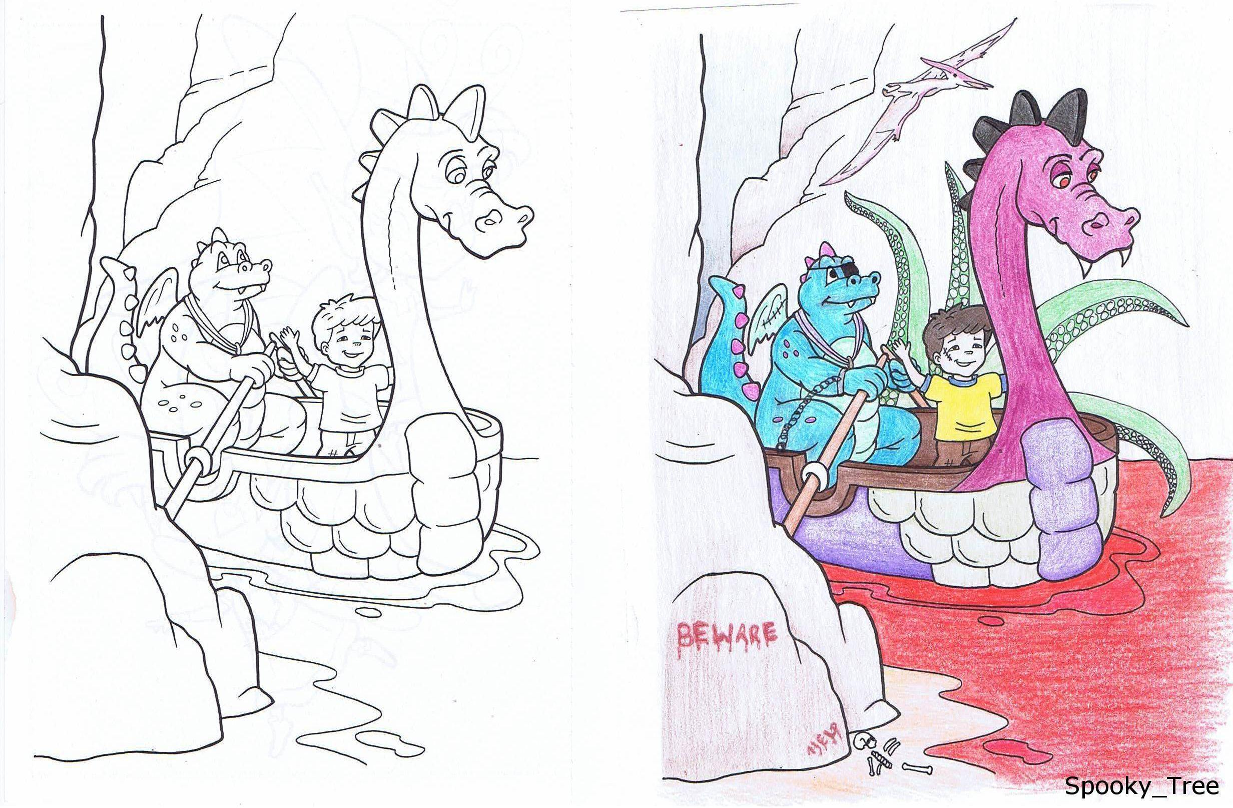 37 Corrupted Coloring Books That Are Seriously Twisted