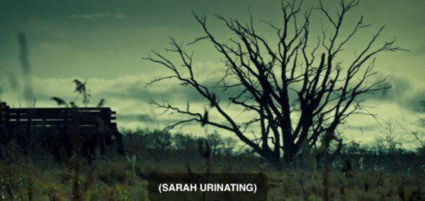 Sarah Urinating