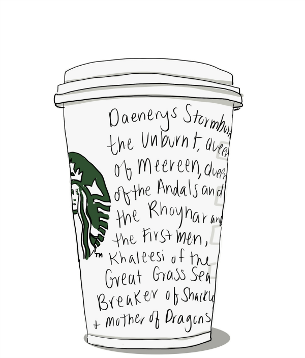Starbucks Daenerys