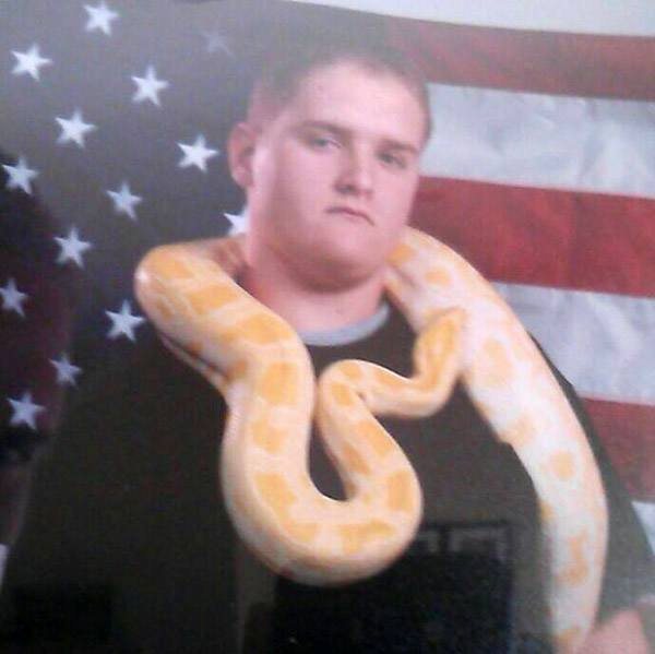 American Snake Man