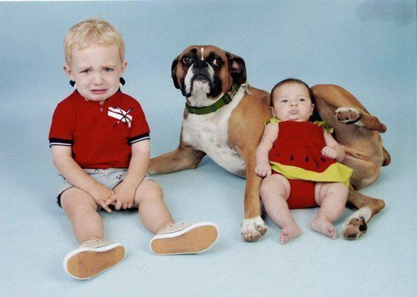 Baby In Dogcrotch