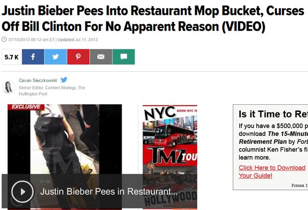 Bieber Mop Bucket
