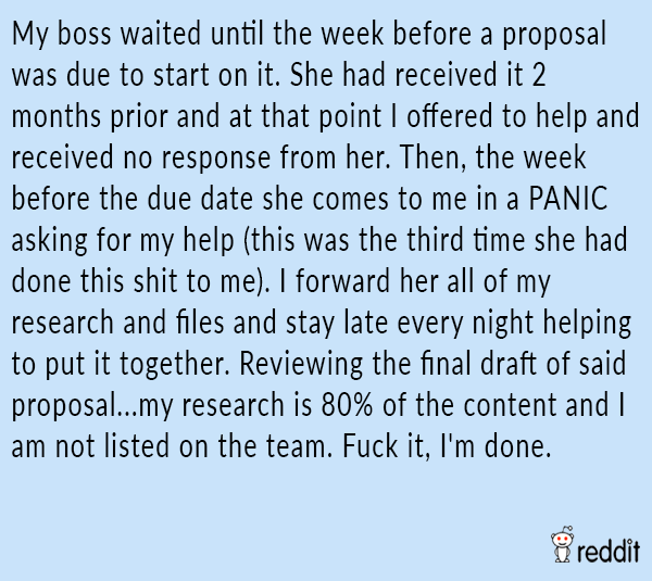Boss Waited