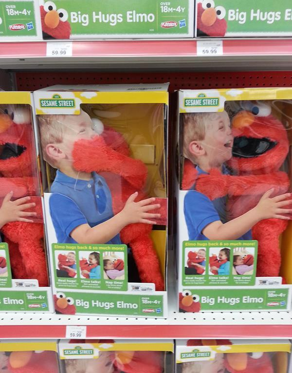 Elmo Has No Chill
