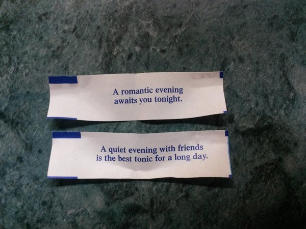 Fortune Cookie Rejection