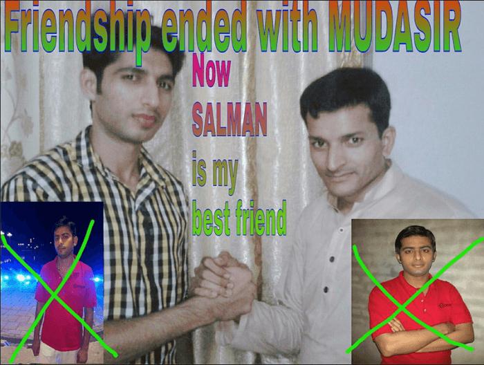 Friendship Ended