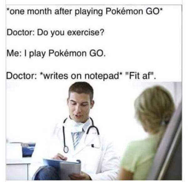 Funny Memes About Pokemon Go