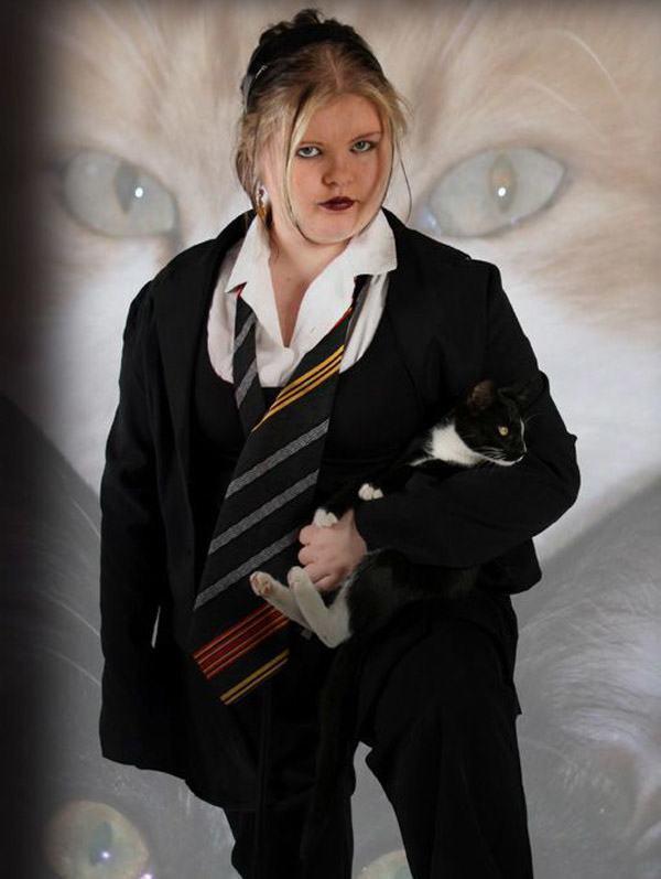 Goth Girl Cat