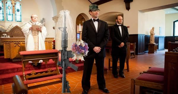 Gun Wedding