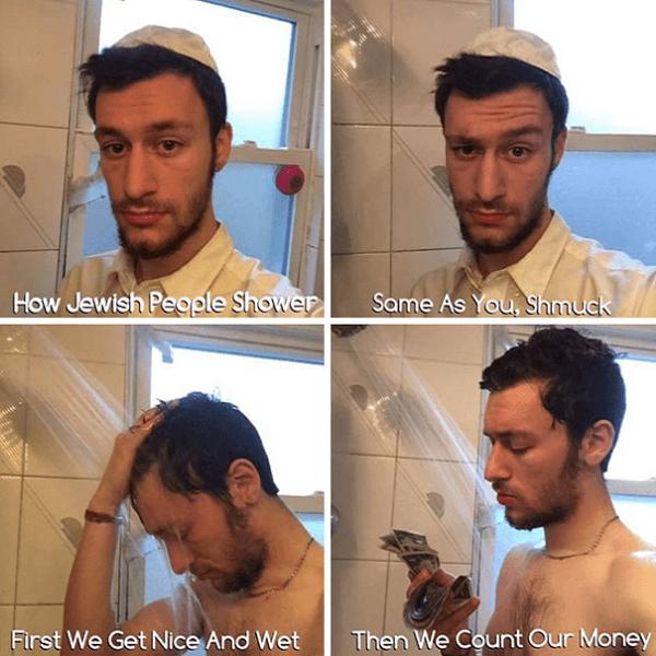 Hebrew Head And Shoulders