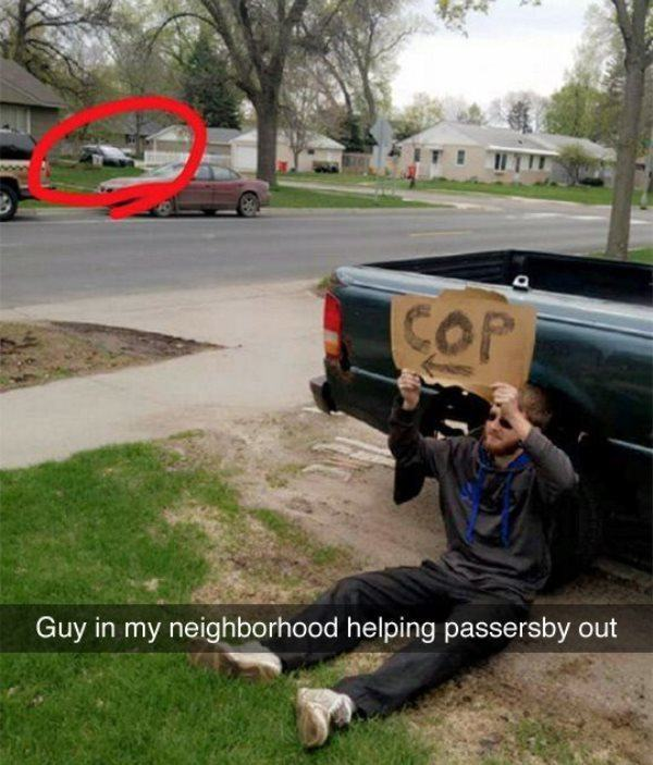 Helping Out Neighbors