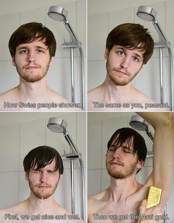 How People Shower