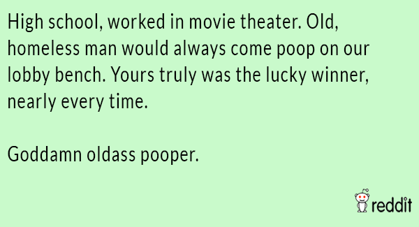 Movie Theater Pooper